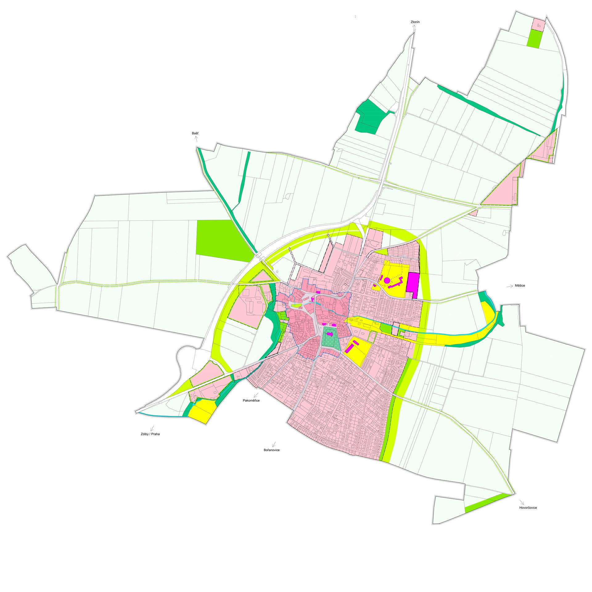 Územní plán Líbeznice